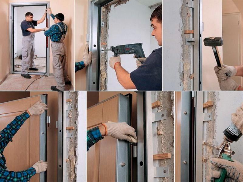 Открытие фирмы по установке металлических дверей