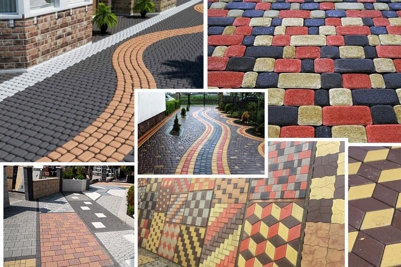 Изготовление тротуарной плитки с изображением